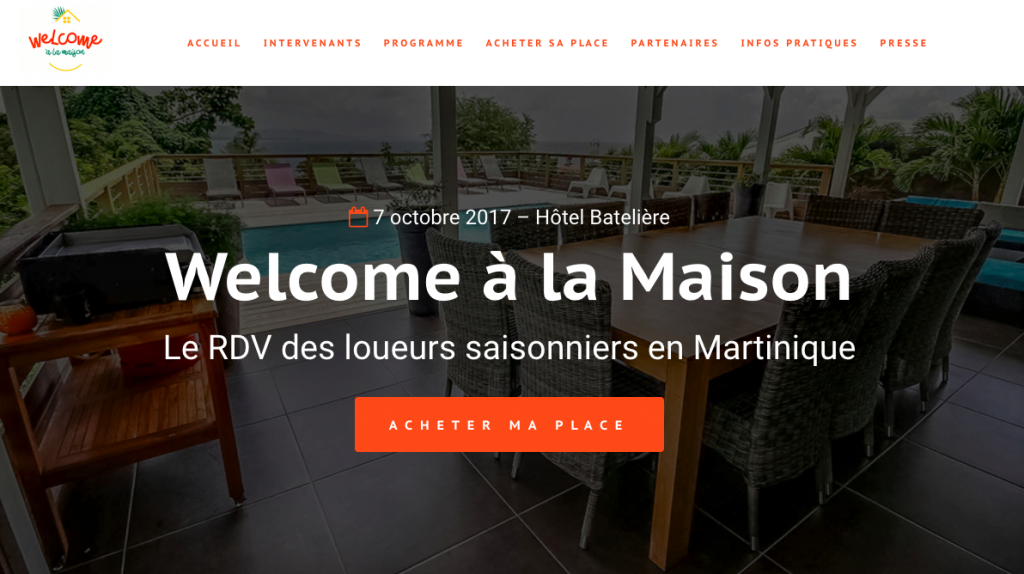 welcome a la maison-martinique